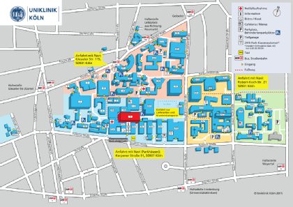 Lageplan Radiologie