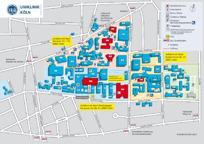 Lageplan Allergiekompetenzzentrum