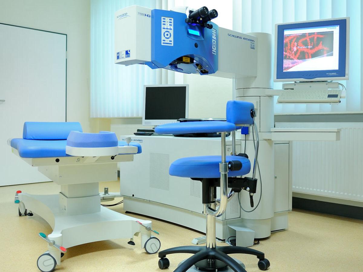 Laser-Suite der Augenklinik Uniklinik Köln, Foto: Uniklinik Köln