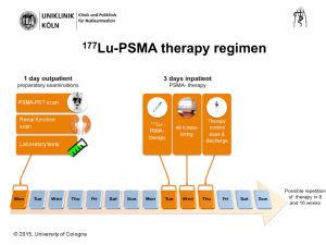 [177Lu]PSMA Therapie