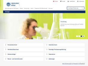 Im neuen Design und mobil optimiert - die Urologie-Website