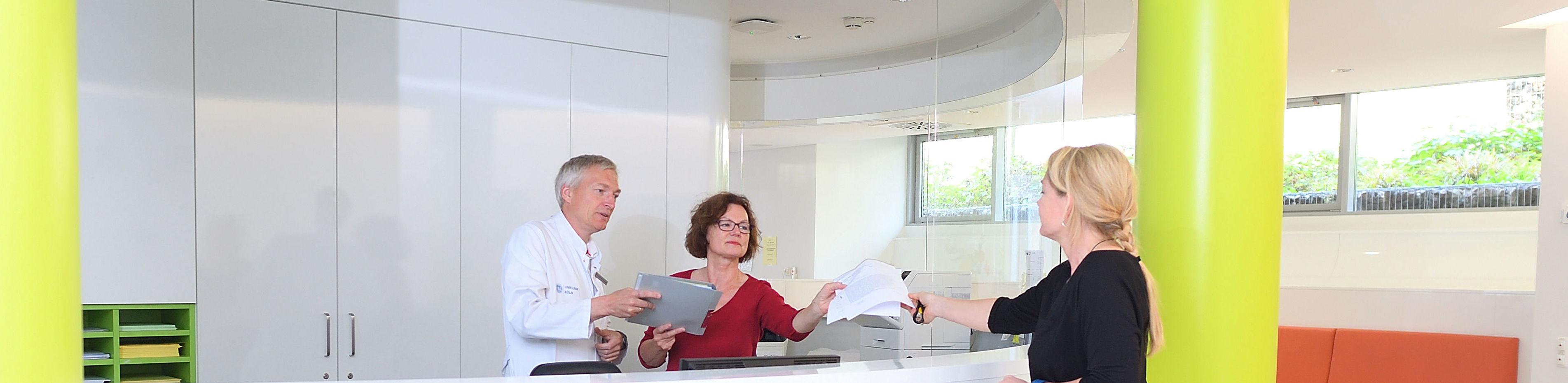 Pflege & Service - Informationen   Strahlentherapie Uniklinik Köln