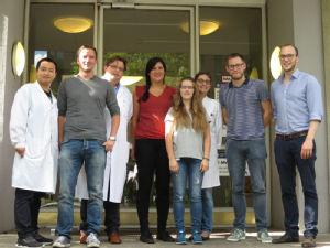 Die Arbeitsgruppe Ophthalmologische Onkologie unter Leitung von Prof. Dr. Ludwig Heindl, Foto: Uniklinik Köln