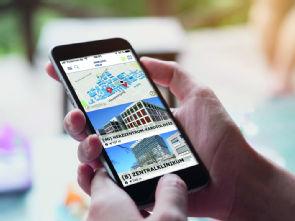 Die neue UKKöln-Navi App - ohne Umwege ans Ziel, Foto: Uniklinik Köln