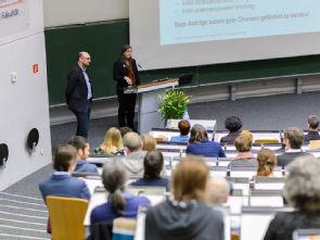 Der Kongress Klinische Pflege im Hörsaal I der Uniklinik Köln, Foto: Uniklinik Köln