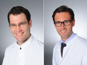 v.l. Dr. Nils Richter und Prof. Dr. Juraj Kukolja, Foto:Uniklinik Köln