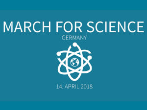 Grafik: Logo March for Science e.V.