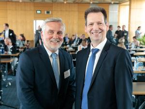 v.l.: Prof. Dr. Eckhard Schönau und Holger Baumann, Foto: DRV Rheinland