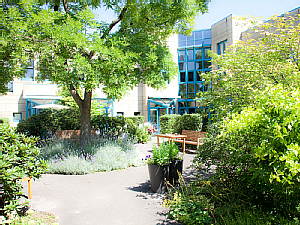 Garten der Palliativmedizin, Foto: Dorothea Hensen