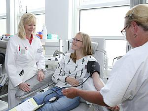 Blut spenden, Foto: Uniklinik Köln