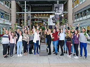 Studierende des neuen Studiengangs Klinische Pflege, Foto: Uniklinik Köln