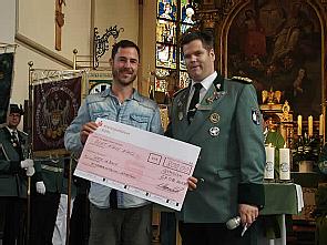 Spendenübergabe am Diözesenjungschützentag, Foto: privat