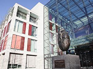 Außenansicht des Herzzentrums der Uniklinik Köln, Foto: Uniklinik Köln