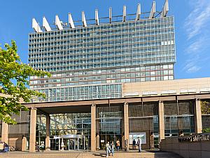 Bettenhaus der Uniklinik Köln, Foto: Uniklinik Köln