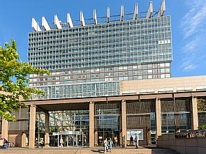 Bettenhaus der Uniklinik Köln, Foto: Christian Wittke