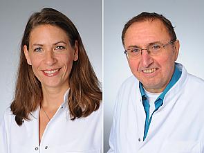v.l. Prof. Dr. Elke Kalbe und Prof. Dr. Josef Kessler, Foto: Uniklinik Köln