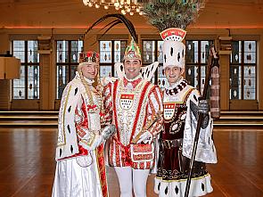 Kölner Dreigestirn der Karnevalssession 2019, Foto: Festkomitee Kölner Karneval/Coelln Coleuer