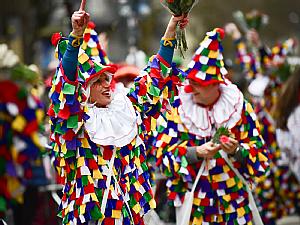 Jecken im Kölner Karneval, Foto: Festkomitee Kölner Karneval