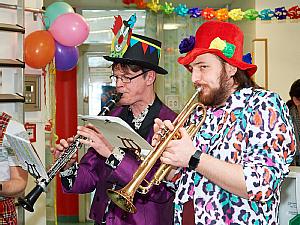 Ohne Musik geht es nicht - Die Kapelle, Foto: Uniklinik Köln