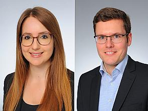 Merle Hönig und Dr. Jochen Hammes, Fotos: Uniklinik Köln