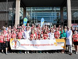 13. Auflage der Radtour-pro-Organspende, Foto: Dorothea Hensen