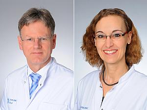 Prof. Dr. Dirk Stippel und Prof. Dr. Christine Kurschat, Foto: Michael Wodak