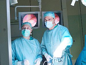 Dr. Grigore Cernaianu und Dr. Martin Dübbers (v.l.), Foto: Michael Wodak