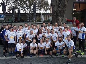 Die Läufer beim Kölner Halbmarathon, Foto: Privat