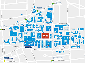 Lageplan mit neuem CIO-Gebäude, Grafik: Uniklinik Köln