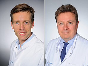 Prof. Dr. Daniel Steven und Prof. Dr. Stephan Rosenkranz, Foto: Michael Wodak