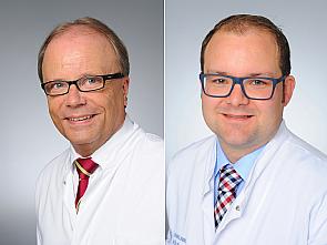 Prof. Dr. Bernd Böttiger und Dr. Wolfgang Wetsch, Foto: Michael Wodak