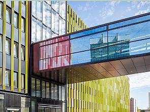 Das CIO-Gebäude, Foto: Medfacilities