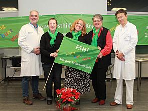 Dr. W. Malter, M. Herbei, M. Klöver-Trompetter, E. Müllenborn, Prof. Dr. P. Mallmann (v.l.), Foto: Christoph Wanko