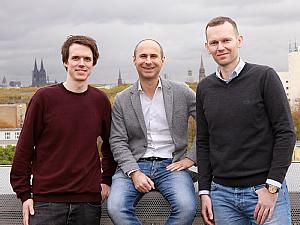 (v.l.) Simon Pöpsel, Alessandro Annibaldi und Robert Hänsel-Hertsch, Foto: Dorothea Hensen