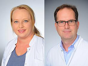 Dr. Sandra Ackermann und Prof. Dr. Matthias Fischer, Foto: Michael Wodak
