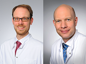 Dr. Tobias Neumann und Prof. Dr. Thorsten Annecke (v.l.), Foto: Michael Wodak