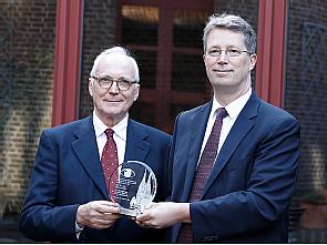 Prof. Dr. Anselm Kampik und Prof. Dr. Claus Cursiefen (v.l.), Foto: Dorothea Hensen