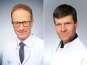 Prof. Dr. Axel Heidenreich und Dr. Bastian von Tresckow (v.l.), Foto: Michael Wodak