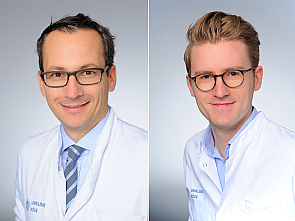 Priv.-Doz. Dr. Thorsten Persigehl und Dr. Simon Lennartz, Foto: Michael Wodak