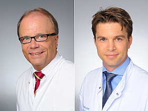 Univ.-Prof. Dr. Bernd Böttiger und Dr. Fabian Dusse (v.l.), Foto: Michael Wodak