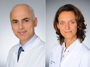 Prof. Dr. Khosro Hekmat und Prof. Dr. Christiane Bruns (v.l.), Foto: Michael Wodak