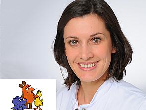 Dr. Lisa Nachtsheim, Foto: Klaus Schmidt/MedizinFotoKöln, WDR/Trickstudio Lutterbeck