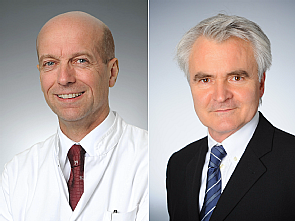 Univ.-Prof. Dr. Peer Eysel und Univ.-Prof. Dr. Christian Albus (v.l.), Foto: Michael Wodak
