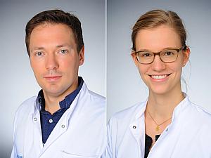 Priv.-Doz. Dr. Philip Enders und Dr. Caroline Gietzelt, Foto: Michael Wodak
