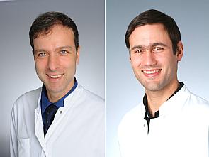 Prof. Dr. Jörg Dötsch und Priv.-Doz. Dr. Dr. Jan Rybniker, Fotos: Klaus Schmidt