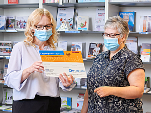 Beratung im Patienten-Informationszentrum (PIZ), Foto: Michael Wodak