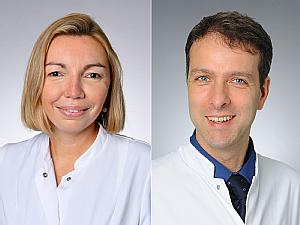 Dr. Isabelle Suàrez und Prof. Dr. Jörg Dötsch, Fotos: Michael Wodak