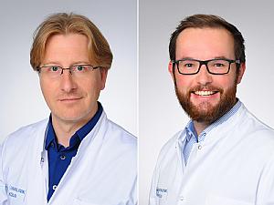 Prof. Dr. Jochen Hinkelbein und Steffen Kerkhoff (v.l.), Foto: Michael Wodak