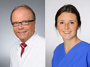 Prof. Dr. Bernd Böttiger und Alexandra Schmitz, Fotos: Michael Wodak