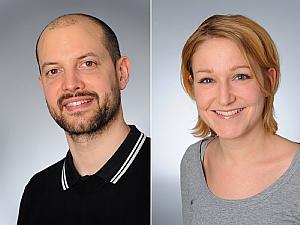 Prof. Dr. Roman-Ulrich Müller und Dr. Franziska Grundmann, Fotos: Michael Wodak